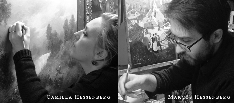 Art Restorers And Conservators Camilla Hessenberg and Marcus Hessenberg